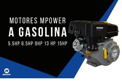 Motores Mpower a Gasolina168F, 168F-2B, 177F, 188F