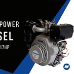 Motores MPower a Diesel 186FD, C188FD, C192FD.